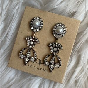 Souviens Statement Earrings Chloe+Isabel